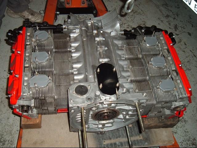 bas moteur Porsche 3L6 type 964